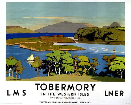 'Tobermory', LMS/LNER poster, 1923-1947.
