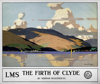 'The Firth of Clyde', LMS poster, 1925.
