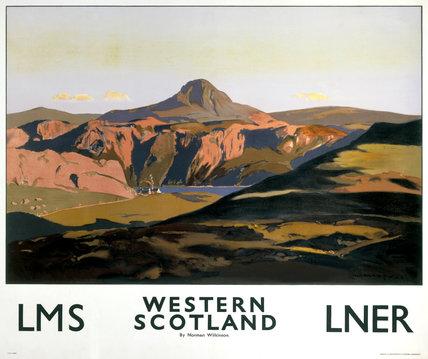 'Western Scotland', LNER/LMS poster, 1935.