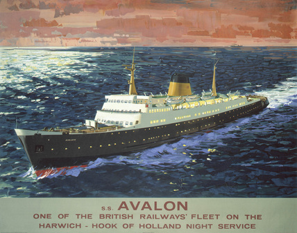's Avalon', BR poster, 1950s.