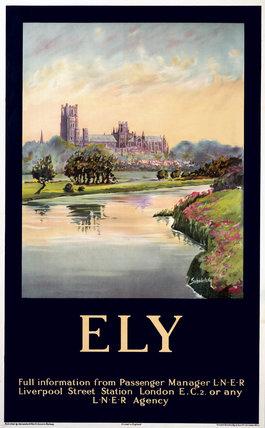 'Ely', LNER poster, 1923-1947.