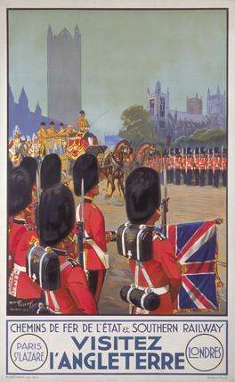 'Visitez l'Angleterre', (Visit England), SR poster, 1932.