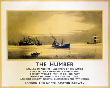 'The Humber', LNER poster, 1932.