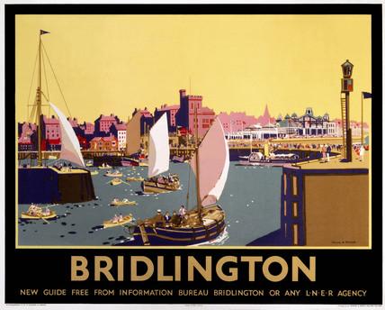 'Bridlington', LNER poster, 1936.