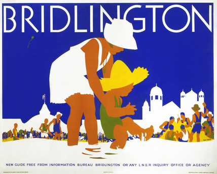 'Bridlington', LNER poster, c 1935.