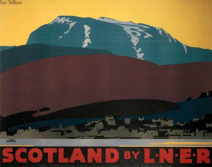 'Scotland by LNER', LNER poster, 1923-1947.