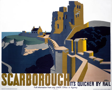'Scarborough', LNER poster, 1924.