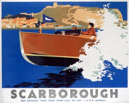 'Scarborough', LNER poster, 1930.
