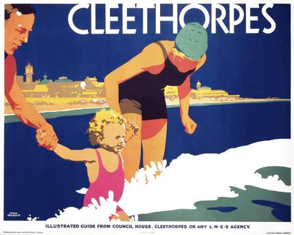 'Cleethorpes', LNER poster, 1923-1947.