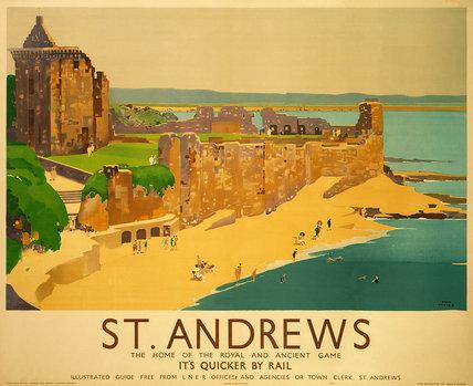 'St Andrews', LNER poster, 1941.