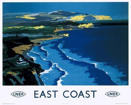 'East Coast', LNER poster, c 1938.