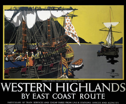 'Western Highlands by East Coast Route', LNER poster, 1939.