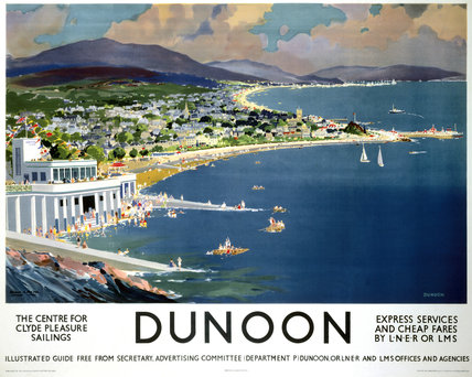 'Dunoon', LNER/LMS poster, 1923-1947.