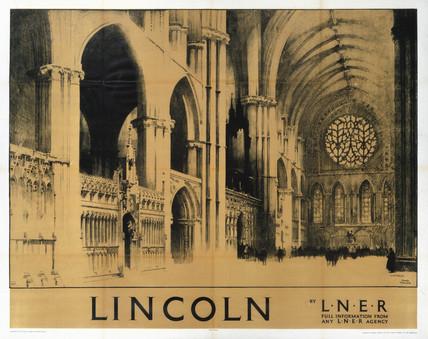 'Lincoln', LNER poster, 1930.