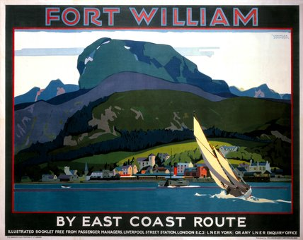 'Fort William', LNER poster, 1923-1947.