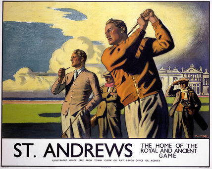'St Andrews', LNER poster, 1933.