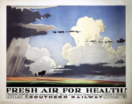 'Fresh Air for Health', SR poster, 1937.