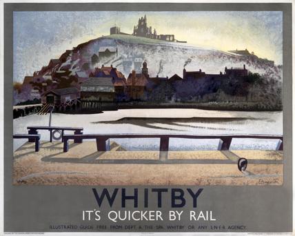 'Whitby', LNER poster, 1933.