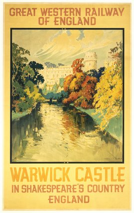 'Warwick Castle in Shakespeare's County', G