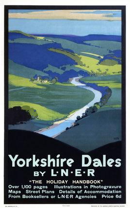 'Yorkshire Dales', LNER poster, 1923-1947.