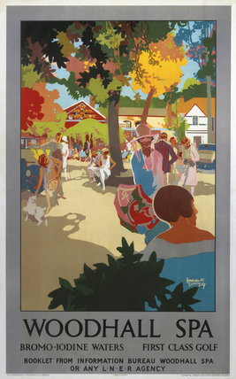 'Woodhall Spa', LNER poster, 1923-1930.