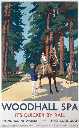 'Woodhall Spa', LNER poster, 1923-1947.
