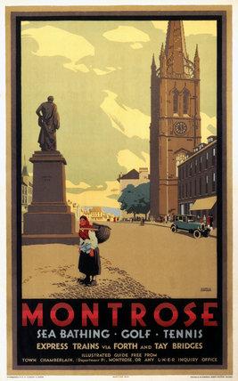 'Montrose', LNER poster, 1923-1947.