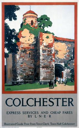'Colchester', LNER poster, 1932.