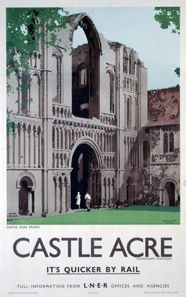 'Castle Acre', LNER poster, 1923-1947.