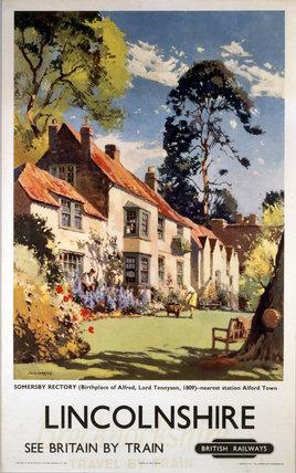'Lincolnshire', BR(ER) poster, 1948-1965.