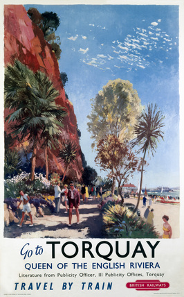 'Go to Torquay', BR (WR) poster, 1958.
