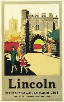 LMS poster. Lincoln by Picking.