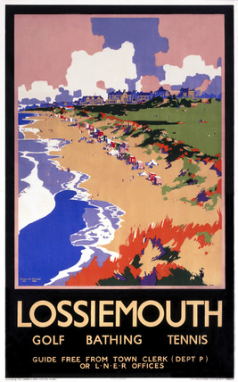 'Losiemouth,' LNER poster, c 1920s.