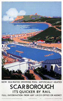 'Scarborough', LNER poster, 1939.