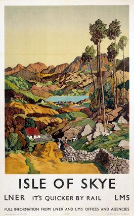 'Isle of Skye', LNER poster, 1939.