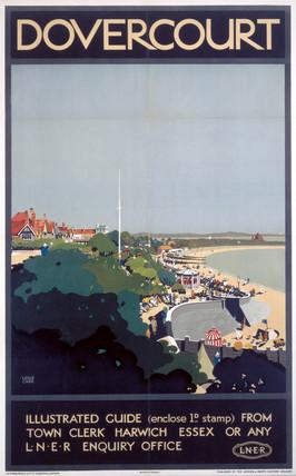 'Dovercourt', LNER poster, 1923-1947.