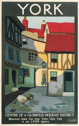'York', LNER poster, 1924.