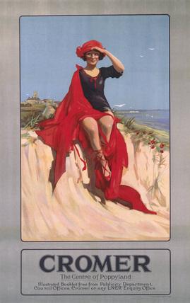 'Cromer', LNER poster, 1923-1947.