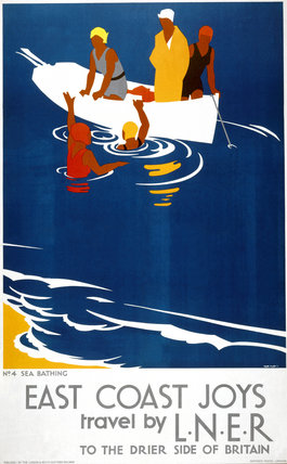 'East Coast Joys - No 4', LNER poster, 1931.