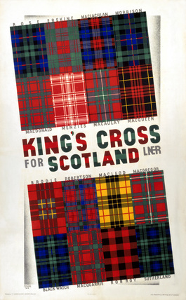 'Kings Cross for Scotland', LNER poster, 1923-1947.