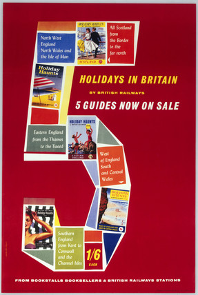 'Holidays in Britain', BR poster, 1958.