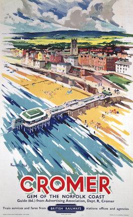 'Cromer', BR poster, 1960.