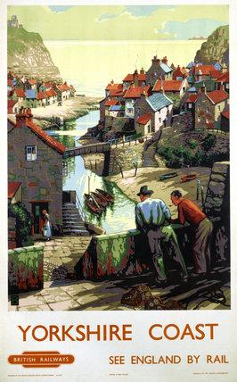 'Yorkshire Coast', BR poster, 1948-1960.