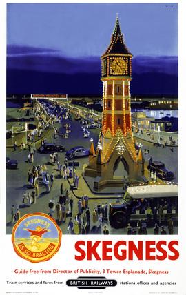 'Skegness', BR poster, 1948-1965.
