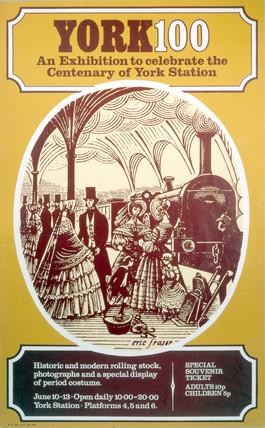 'York 100', BR poster, 1977.