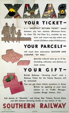 'XMas', SR poster, 1936.