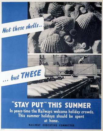 'Stay Put This Summer', REC poster, 1939-19