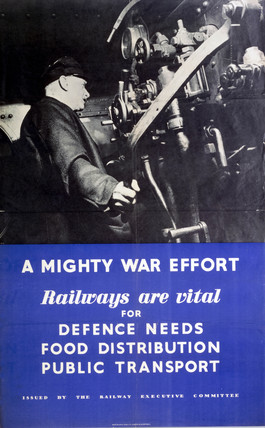 'A Mighty War Effort', REC poster, 1939-1945.