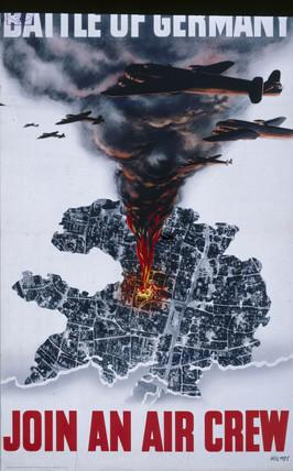 'Battle of Germany', World War II, 1939-1945.