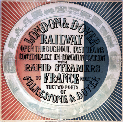 London & Dover Railway notice, 1864-1899.